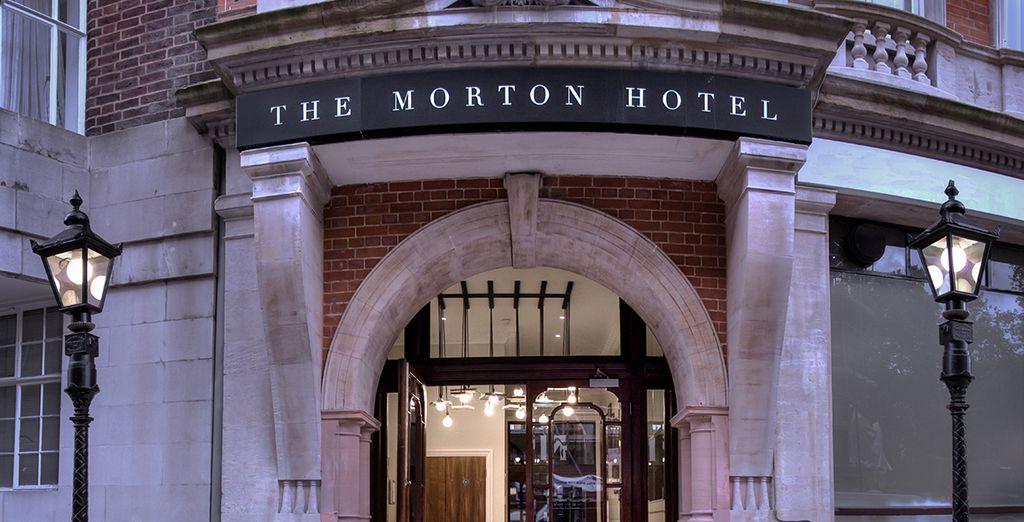 El hotel ocupa un edificio antiguo magníficamente restaurado