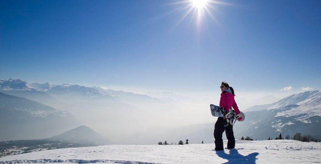 Una de las mejores estaciones de ski de Suiza