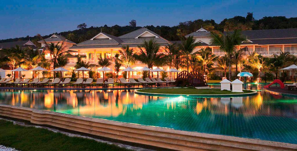 Un resort de lujo en Krabi