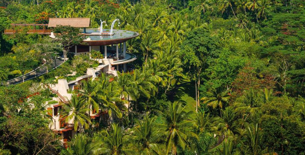 En pleno corazón de Bali, en Ubud, se encuentra Four Seasons Sayan 5*