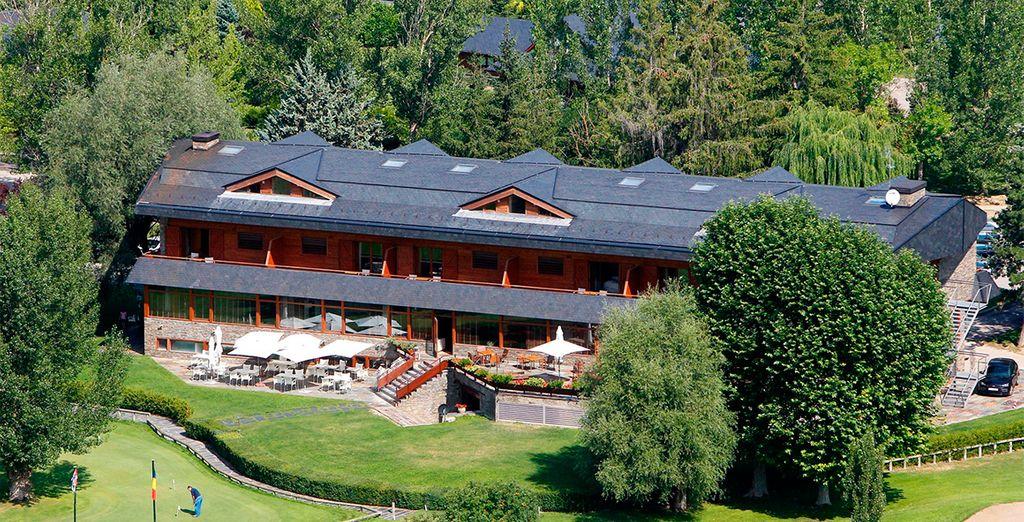 Un hotel ideal para pasar unos días relajado o jugando a golf