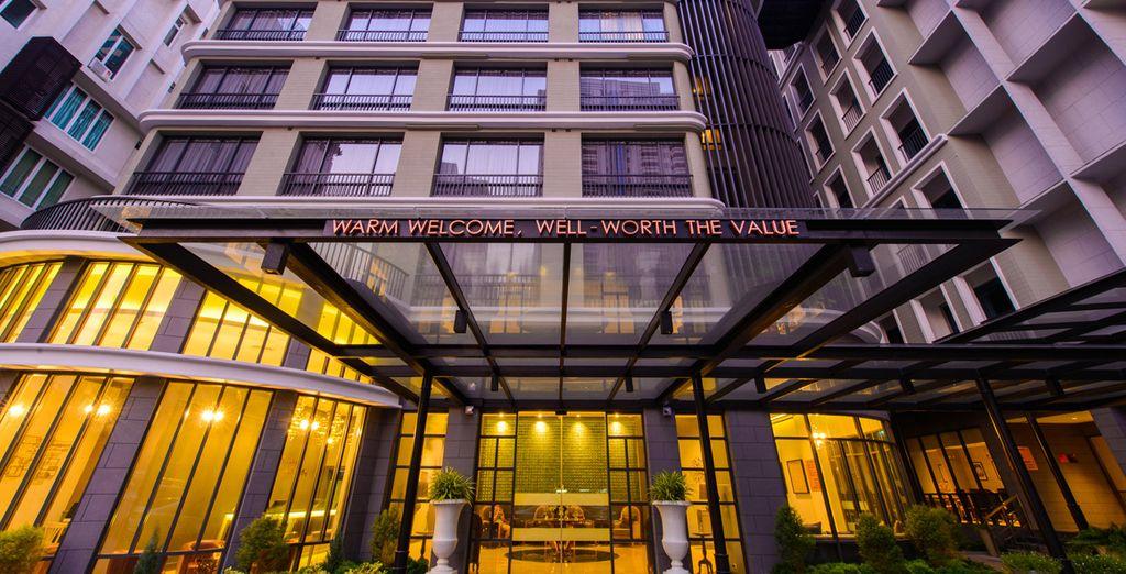 Tu hotel en Bangkok