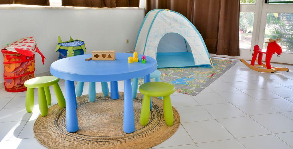 Un espacio de diversión para los más pequeños