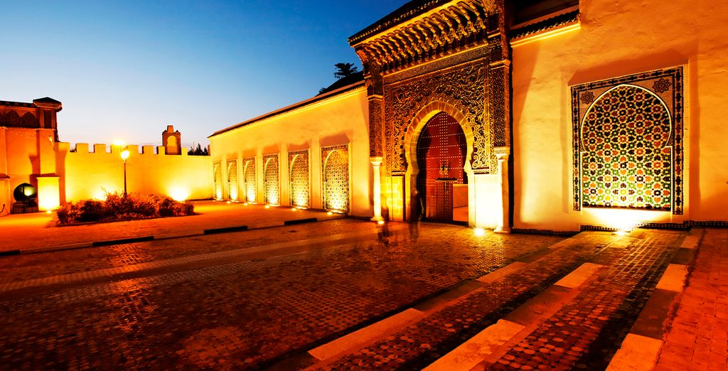 Visitará el Mausoleo de Moulay Ismail en Meknes