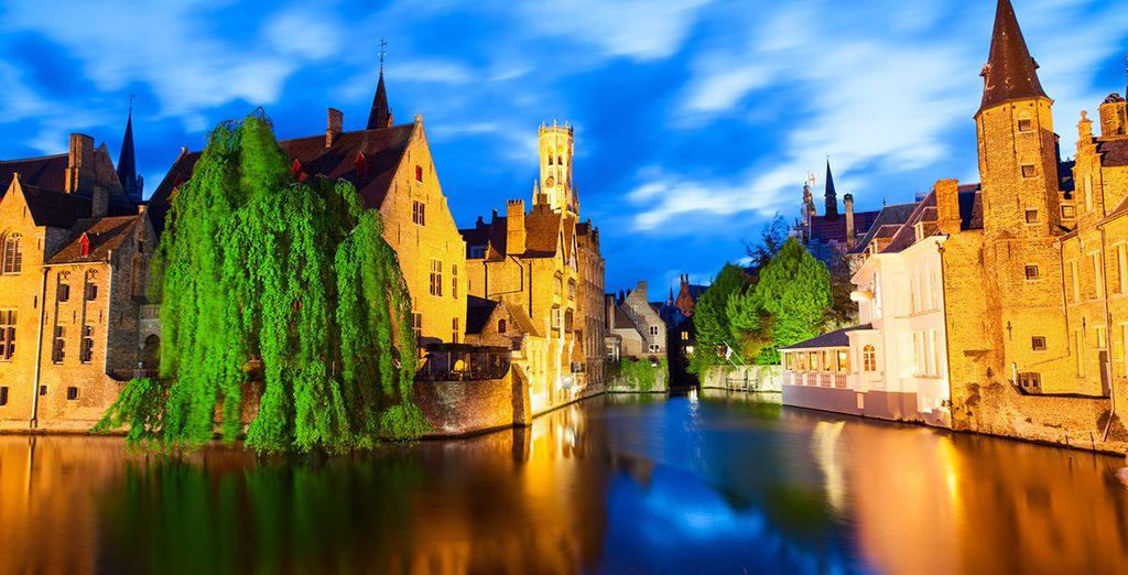 Una ciudad medieval perfectamente conservada