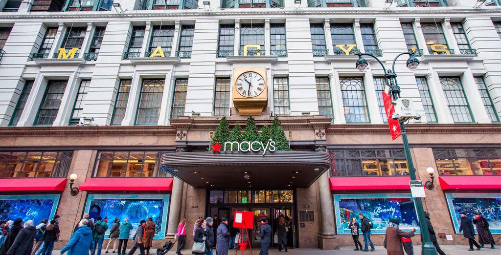 Macy's, los más grandes almacenes