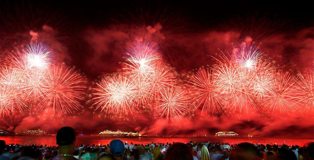 Una noche de Fin de Año que no olvidará