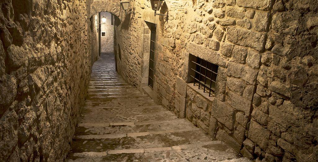 El barrio Judio de Girona es uno de los barrios mejor conservados de España, historia imperdible