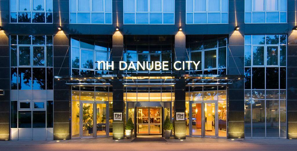 Bienvenido al Hotel NH Danube City