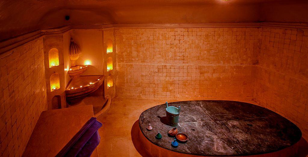 ...y disfruta de un relajante masaje en un lugar mágico