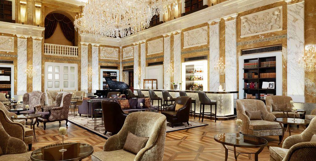 El Café Imperial sirve café y repostería vienesa clásica