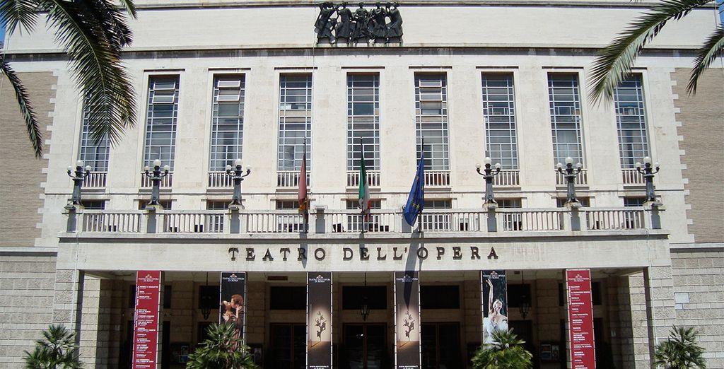 El Teatro dell'opera en Roma