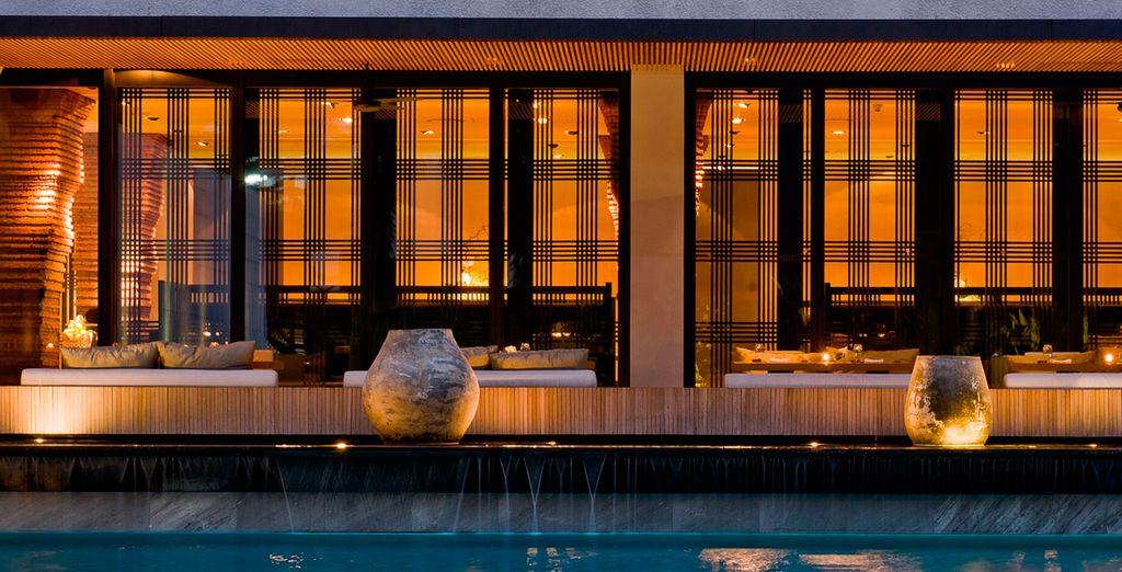Un hotel de estilo tailandés muy moderno