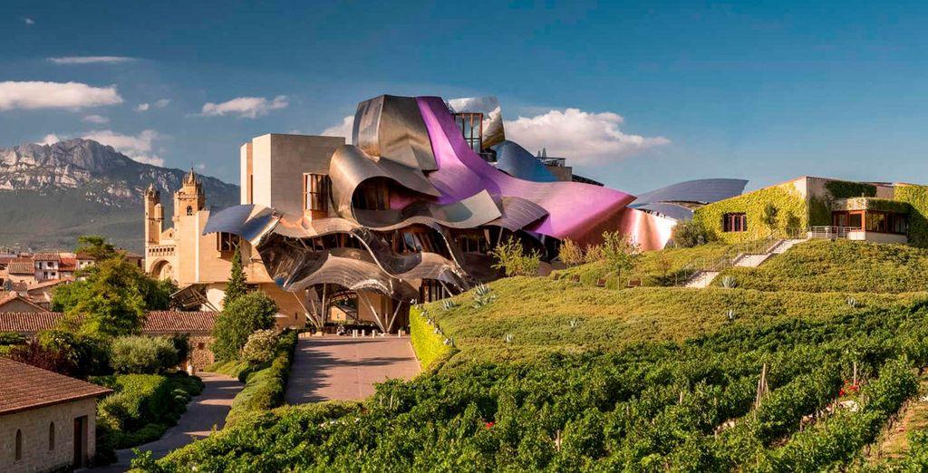 Diseño moderno en el Marqués de Riscal 5*, A Luxury Collection por el arquitecto Frank Gehry