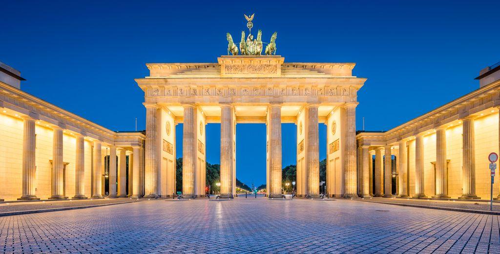Disfruta de toda la belleza de Berlín alojándote en Hotel Otto 4* ¿A qué estás esperado para ir?