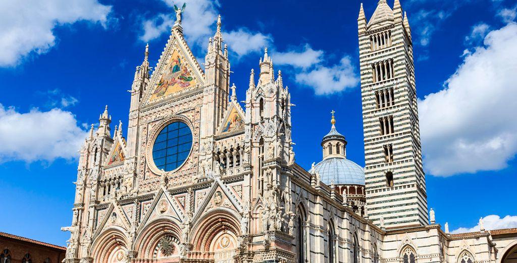 Ha conservado la atmósfera medieval localizada en el corazón de la toscana