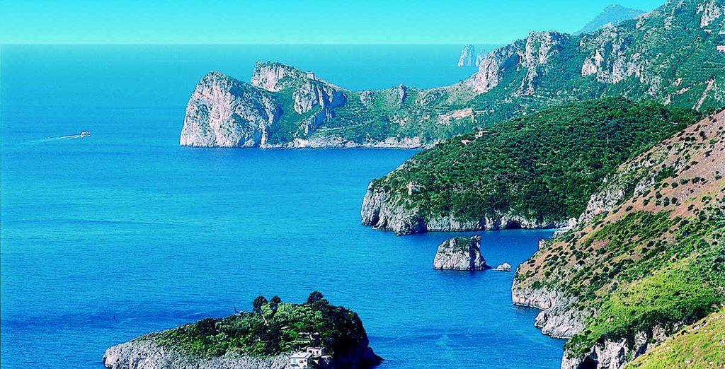 La costa de Sorrento es increíble