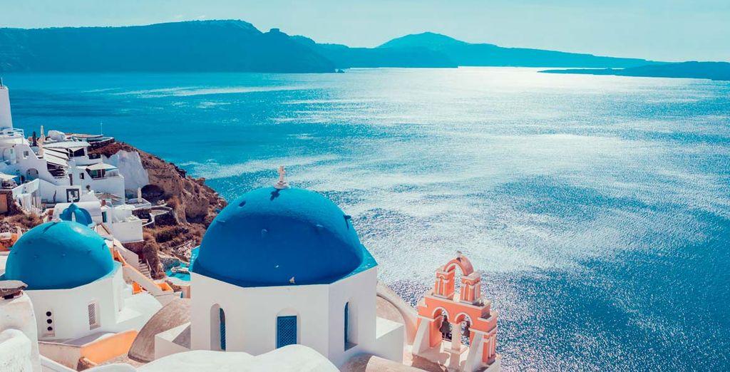 Crucero por las Islas Griegas - Santorini