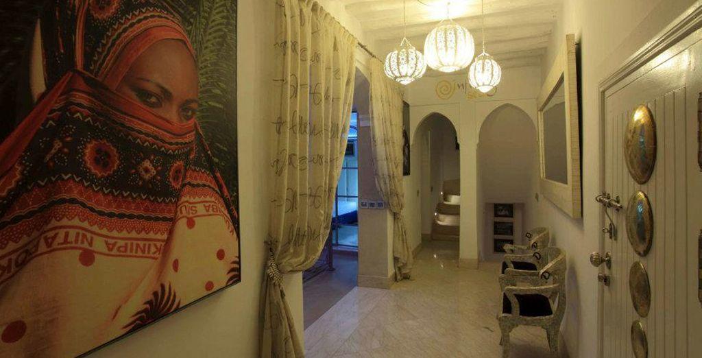 Interiores del más puro estilo árabe