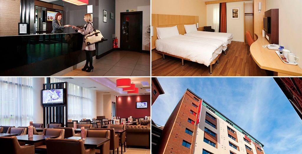 Ibis Belfast City Center 3*, un cómodo y acogedor alojamiento