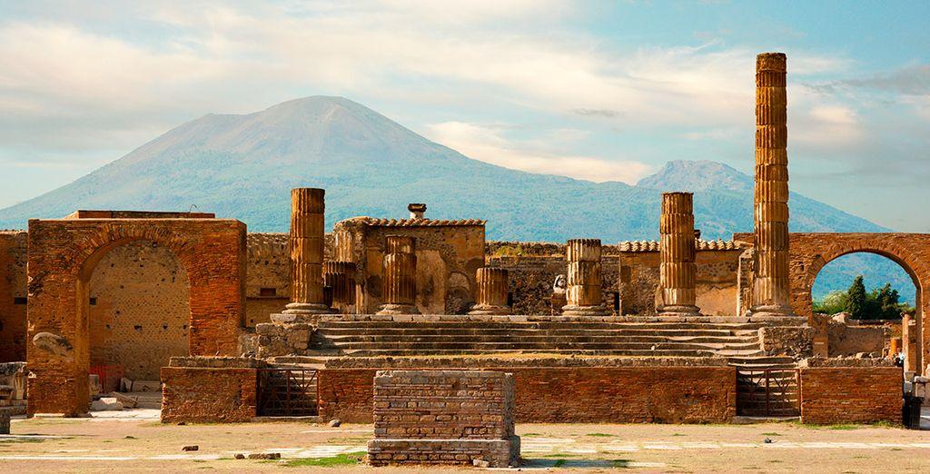 Aprovecha la ocasión y visita la histórica Pompeya