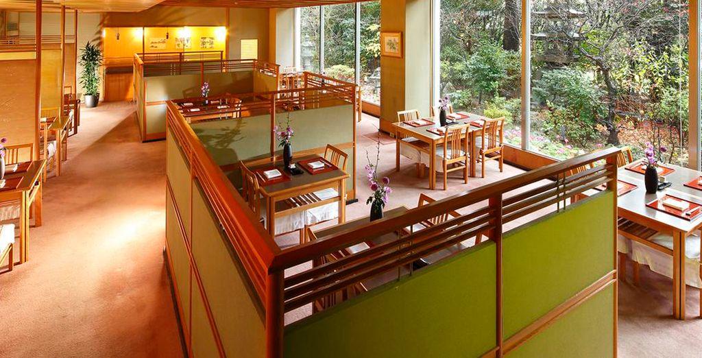 Un ambiente tranquilo al más estilo japonés