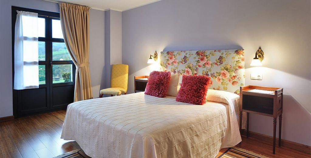 Cada habitación tiene un encanto particular