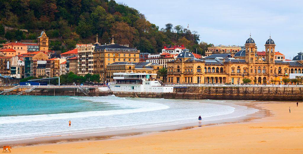 Tu hotel se encuentra en la mejor zona: la Playa de la Concha