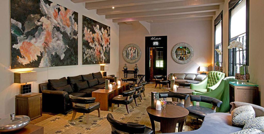 ...tu hotel rebosa un aire contemporáneo y cool