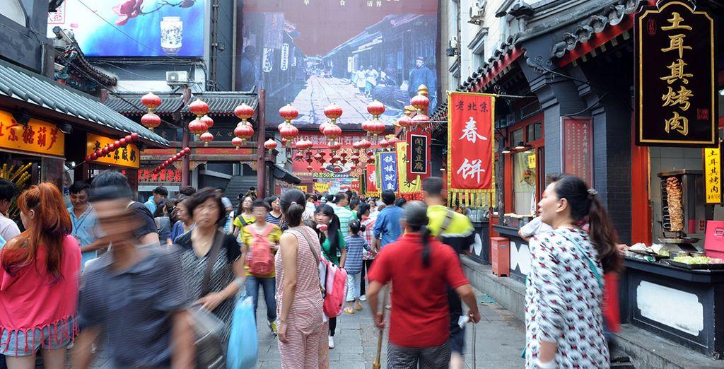 Un paseo por las calles de Pekín