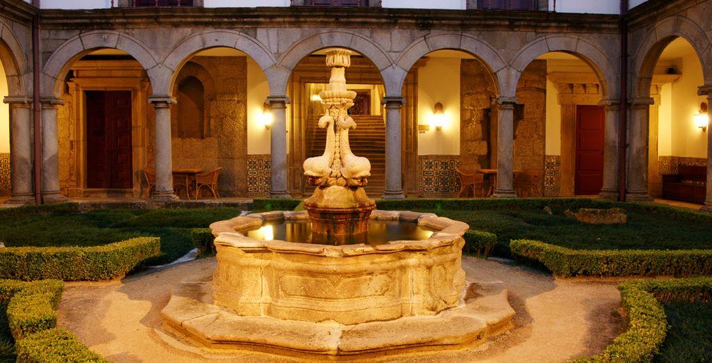 Fruto de la restauración del monasterio agustino del siglo XII