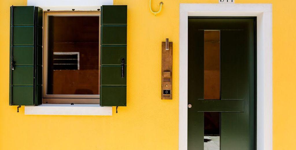 Calles llenas de color