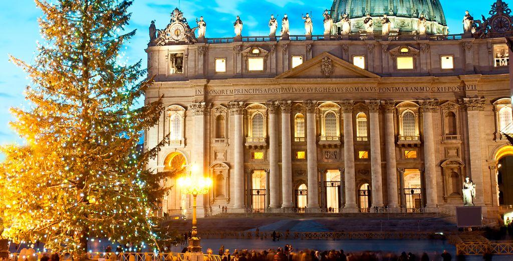 Navidad, la época perfecta para descubrir la mágica ciudad de Roma