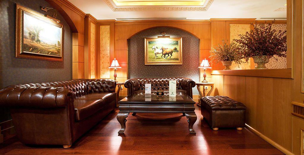 Un hotel clásico y tradicional