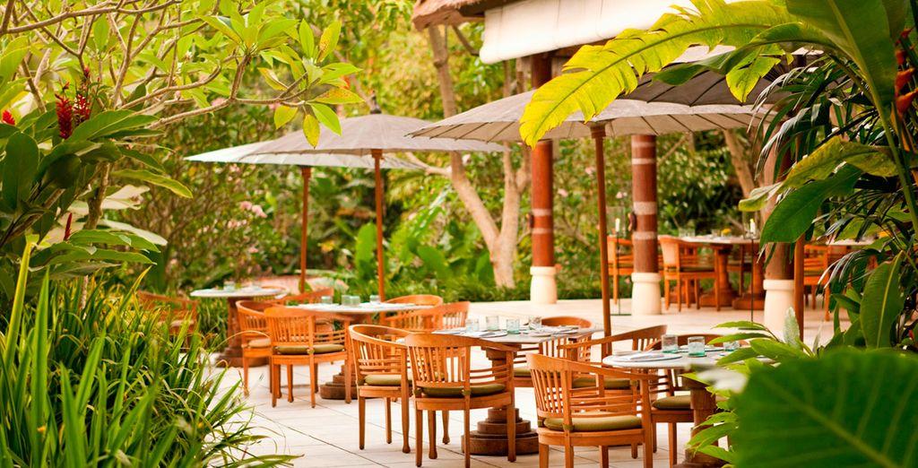 Restaurantes y terrazas al exterior