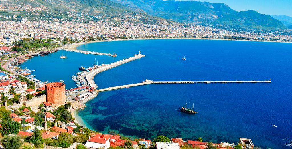 Venga a conocer Antalya