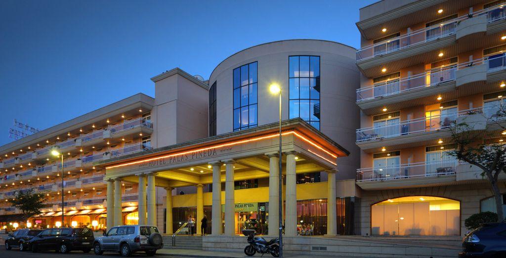 Bienvenido al hotel Palas Pineda