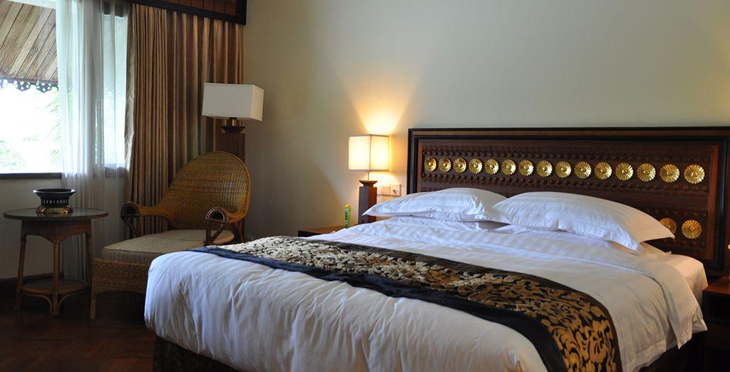 La habitación Deluxe en Kandawgyi Palace 4* te está esperando