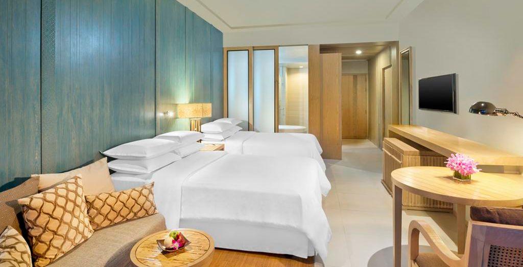 Tu habitación Deluxe Room