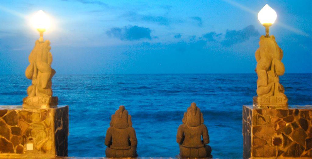 Un resort que se encuentra a pie de playa. Puri Mas Boutique