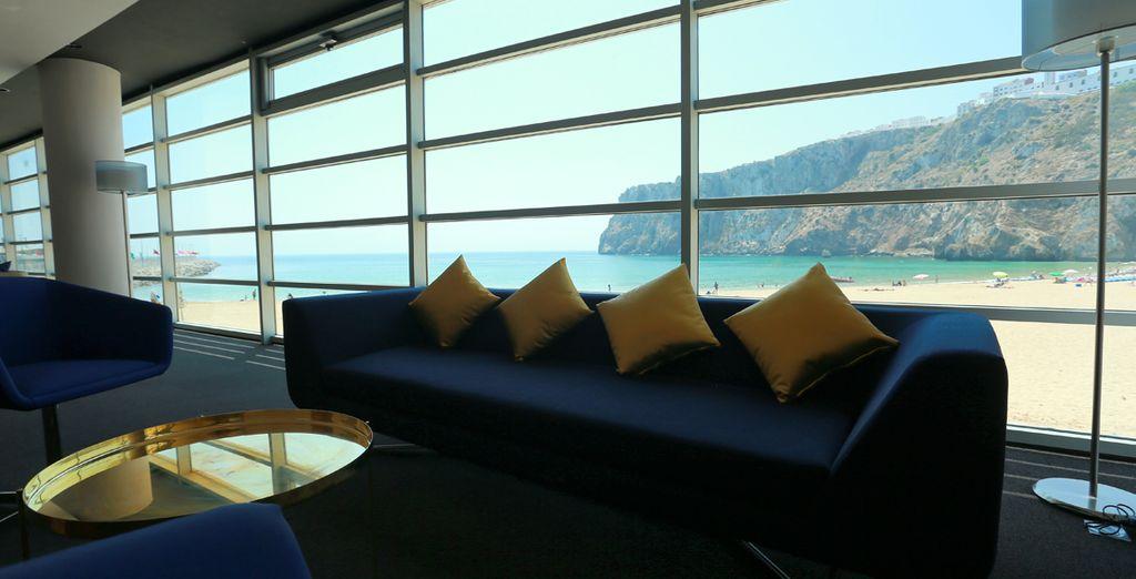 Desde el hotel se pueden apreciar unas vistas maravillosas