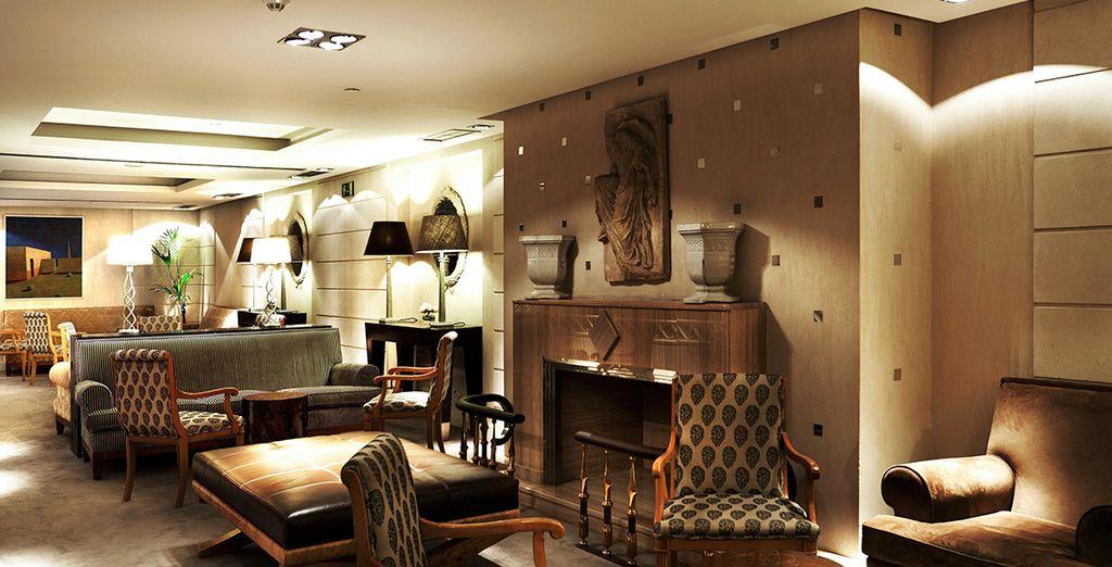 Bienvenido al Hotel Hesperia Madrid 5*