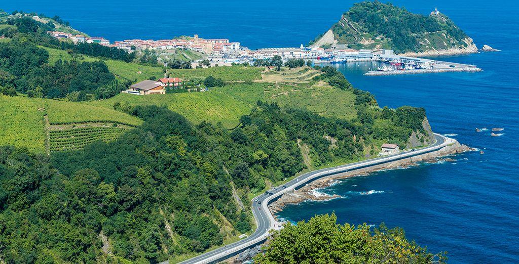 La bella Guetaria, en la costa guipuzcoana, donde podrá degustar lo mejor del mar y el txakolí
