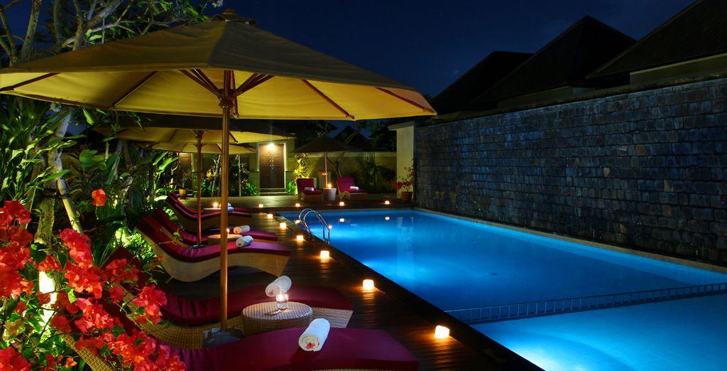 Cada rincón de este hotel está diseñado para que usted descanse y se relaje en sus vacaciones