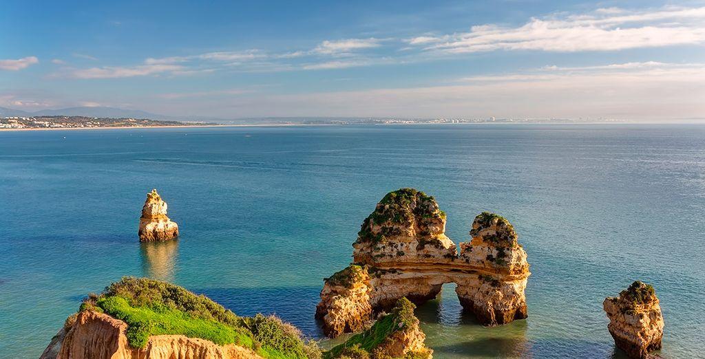 El Algarve tiene paisajes únicos