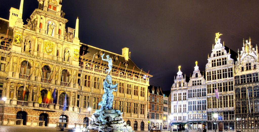 ...a la capital europea