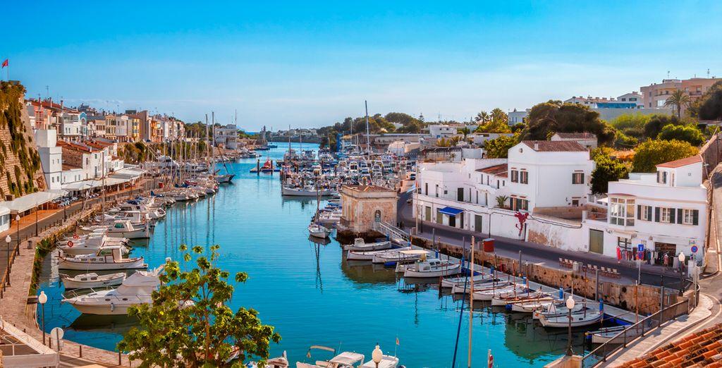 Vacaciones en familia en Menorca con niños, viajes con Voyage Privé