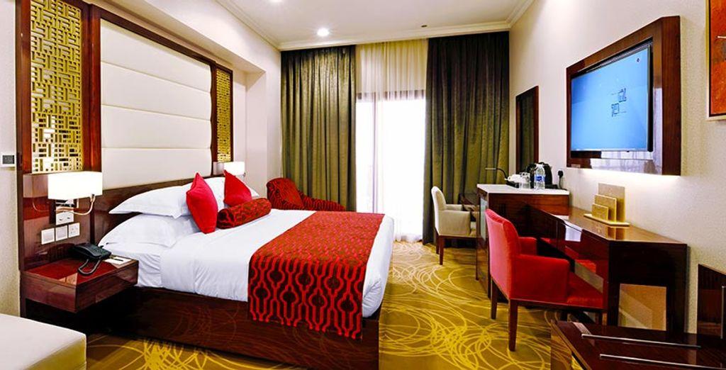 Descansa en tu habitación y recarga energías para seguir con tu viaje