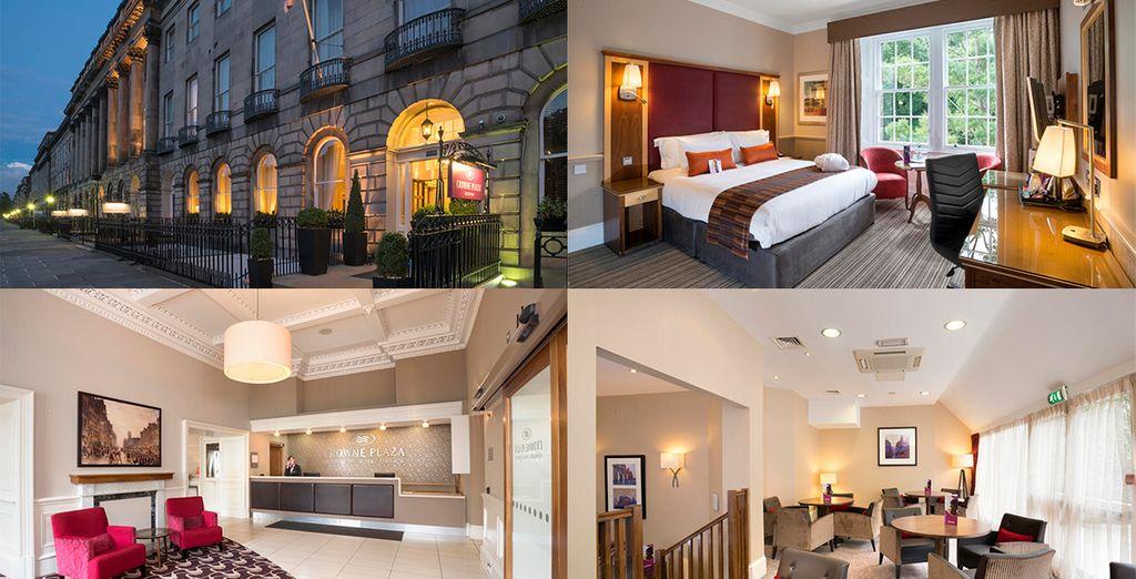 The Royal Terrace Hotel Crowne Plaza 4*, uno de tus posibles alojamientos en Edimburgo