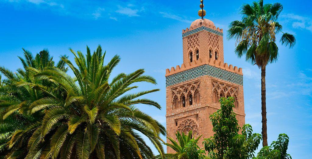 Descubre la exótica Marrakesch